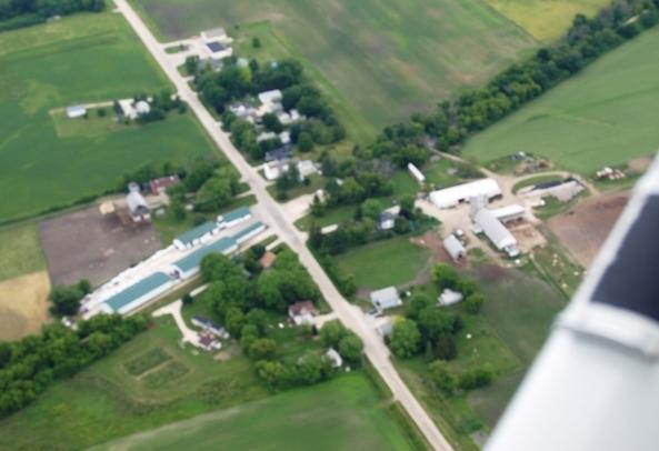 Aerial View of Oak Center